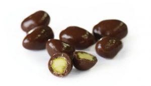 chocolat pistache et caramel