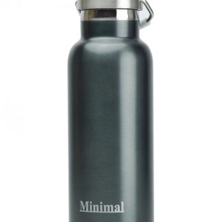 Flask minimal 500ml gunmetal