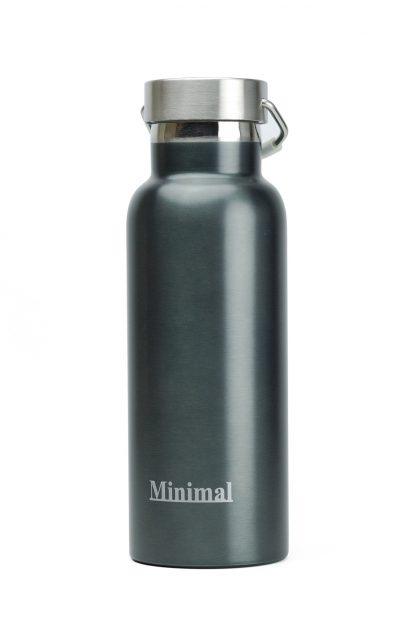 Flask minimal 500ml gunmetal